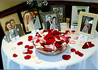 rose petals for weddings