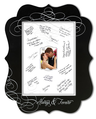 Wedding Guest Book Alternative